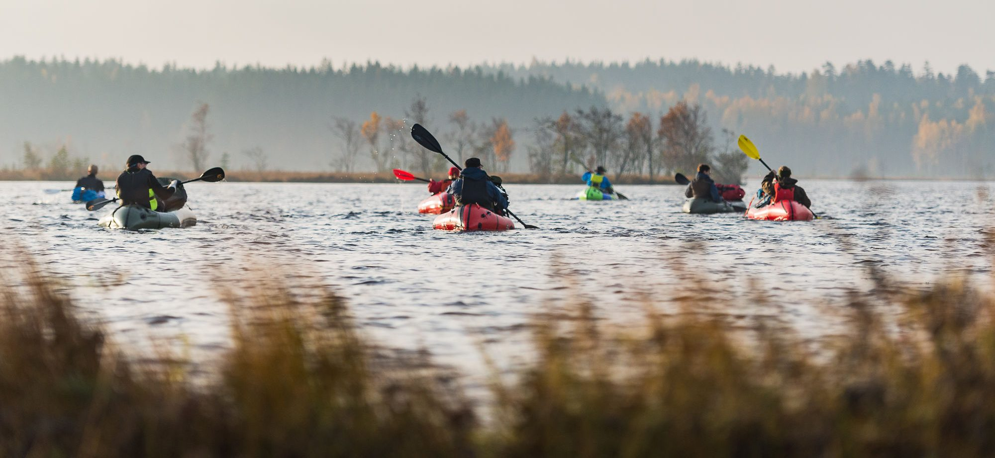 Packrafting Finland